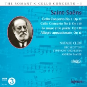 Album artwork for Romantic Cello Concerto Vol.5. Clein/BBC Scottish/