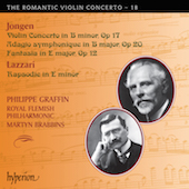 Album artwork for Romantic Violin Concerto Vol.18. Graffin/Royal Fle