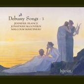 Album artwork for DEBUSSY. Songs - Vol.3. France/McGovern/Martineau