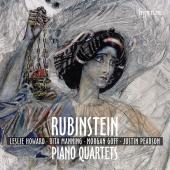 Album artwork for RUBINSTEIN. Piano Quartets. Howard/Manning/Goff/Pe