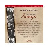 Album artwork for Poulenc: The Complete Songs. Johnson (4 for 3)