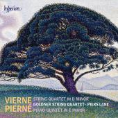 Album artwork for Vierne: String Quartet / Pierne: Piano Quartet