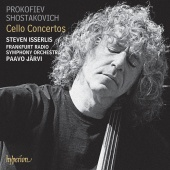 Album artwork for PROKOFIEV. SHOSTAKOVICH. Cello Concertos. Isserlis