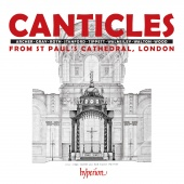 Album artwork for Canticles. St Paul's Cathedral Choir/Carwood