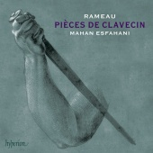 Album artwork for RAMEAU. Pieces de clavecin. Esfahani
