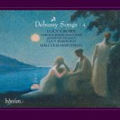 Album artwork for Debussy: Songs vol.4 / Crowe, Martineau