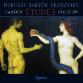 Album artwork for Etudes of Debussy, Bartok Prokofiev / Ohlsson