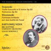 Album artwork for Romantic Violin Concerto vol. 20 / Stojowski, Wien
