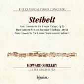 Album artwork for The Classical Piano Concerto - Steibelt / Shelley