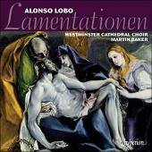 Album artwork for Lobo: Lamentations / Westminster Cathedral Choir