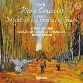 Album artwork for Ravel: Piano Concertos / Steven Osborne