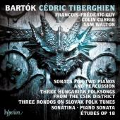 Album artwork for Bartok: Piano Works vol.3 / Tiberghien