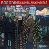Album artwork for Borodin: Piano Quintet & String Quartet #2