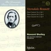 Album artwork for Sterndale Bennett - Piano Concertos 1 - 3