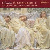 Album artwork for R. Strauss: Complete Songs vol. 8 /  Vignoles