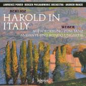 Album artwork for Berlioz: Harold in Italy, Weber: Introduction to t