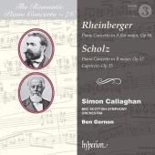 Album artwork for Romantic Piano Concerto vol. 76 - Rheinberger / Sc