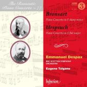 Album artwork for Romantic Piano Concerto vol. 77 / Bronsart, Urspru