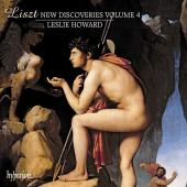 Album artwork for Liszt: New Discoveries vol. 4 / Leslie Howard