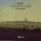 Album artwork for Bach: The English Suites / Angela Hewitt