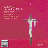Album artwork for MacMillan - SEVEN LAST WORDS FROM THE CROSS