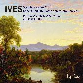 Album artwork for Charles Ives: Symphonies no 2 & 3, etc / Litton