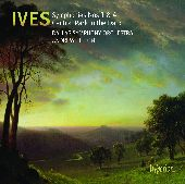 Album artwork for IVES - SYMPHONIES NOS. 1 & 4, CENTRAL PARK IN THE