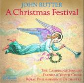 Album artwork for Rutter: A Christmas Festival