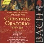 Album artwork for CHRISTMAS ORATORIO (BWV 248) / Rilling