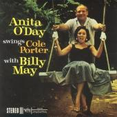 Album artwork for Anita o'Day Swings Cole Porter with Billy May