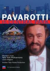 Album artwork for Luciano Pavarotti: In Central Park