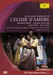 Album artwork for Donizetti: L'elisir D'amore / Pavarotti, Levine,