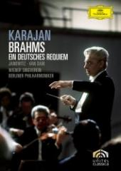 Album artwork for Brahms: Ein Deutches Requiem / Karajan