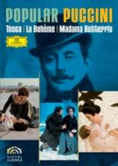 Album artwork for Popular Puccini: Tosca, Boheme, Madama Butterfly