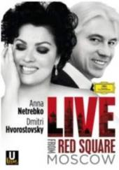 Album artwork for Netrebko Hvorostovsky LIVE FROM RED SQUARE