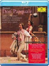 Album artwork for DONIZETTI: DON PASQUALE (BR) Met HD, Netrebko