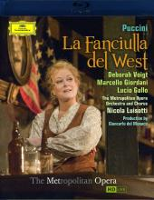 Album artwork for Puccini: La Fanciulla del West / Voigt Met HD, Blu