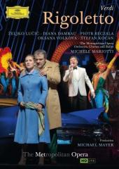 Album artwork for Verdi: Regoletto / Met HD, Damrau, Beczala
