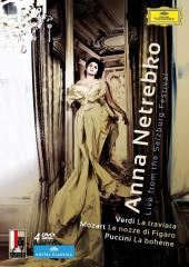Album artwork for Anna Netrebko - Live from Salzburg Festival (4DVD)