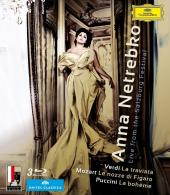Album artwork for Anna Netrebko - Live from Salzburg Festival (3BR)