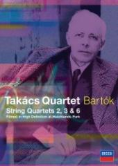 Album artwork for BARTOK STRING QUARTETS 2,3 & 6