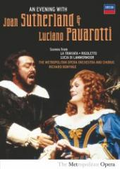 Album artwork for Sutherland & Pavarotti: An Evening With