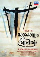 Album artwork for PIZZETTI- MURDER IN THE CATHEDRAL