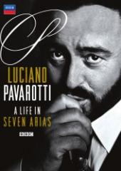 Album artwork for Luciano Pavarotti: A Life in Seven Arias