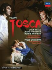 Album artwork for Puccini: Tosca / Kaufmann, Magee, Hampson