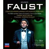 Album artwork for Gounod: Faust / Kaufman, Pape (blu-ray) Met HD