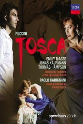Album artwork for Puccini: Tosca / Magee, Kaufmann, Hampson