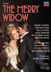 Album artwork for The Merry Widow / Met HD, Fleming