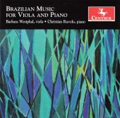 Album artwork for Brazilian Music for Viola