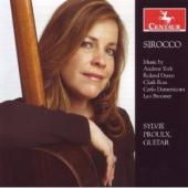 Album artwork for Sirocco: Guitar Music by Dyens, Ross, Domeniconi /